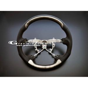 グラージオ LEXUS レクサス LS600h ASH SILVER ステアリング・プレミアムライン|partshouse04