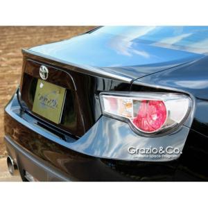 グラージオ シーオー トヨタ86 前期 SPORTDESIGN トランクリップスポイラー カラード塗装済み|partshouse04
