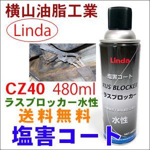 Linda 塩害コート ラスブロッカーCZ40 水性 480mml 1本 送料無料|partsking