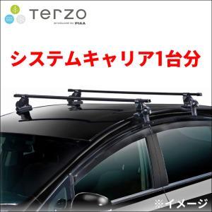 TERZOベースキャリア取付3点セット EF14BL,EB3,EH336 セレナC25|partsking