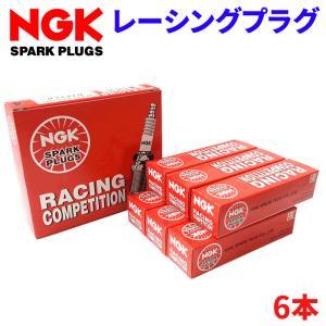 メーカー取寄せ NGK レー シングプラグ R7436-9 6本セット partsking