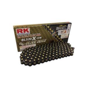 RKチェ−ン BL520X-XW-110 ブラック 520-110|partsline24