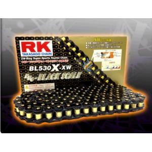 RKチェ−ン BL530X-XW-130 ブラック 530-130|partsline24