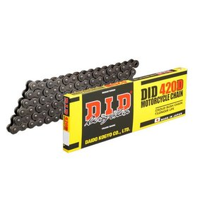 DIDチェ-ン 420D-100L シルバー/YB-1 YSR V50|partsline24