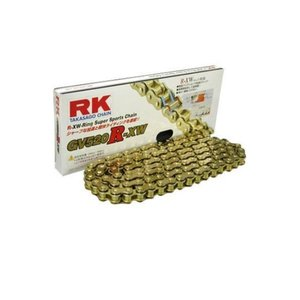 RKチェ−ン GV520R-XW110 ゴールド 520-110|partsline24
