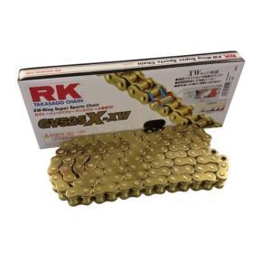 RKチェ−ン GV525X-XW120 ゴールド 525-120|partsline24