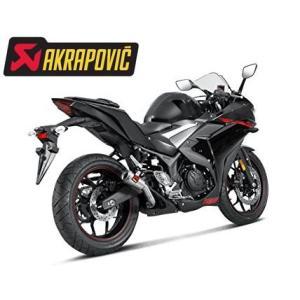 MotoGPヤマハワークスチームもYZR-M1に採用しているアクラポヴィッチ社製ヤマハYZF-R3/...