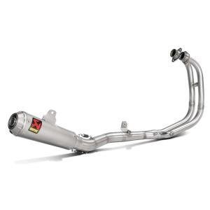 MotoGPヤマハワークスチームも採用しているアクラポヴィッチよりYZF-R25/R3 用のステンレ...