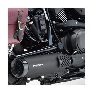 (送料無料)YAMAHA (ワイズギア) BOLT/R-Spec用 PRUNUS フルエキゾースト(マットブラック仕様)(Q5KSKR001023)|partsonline