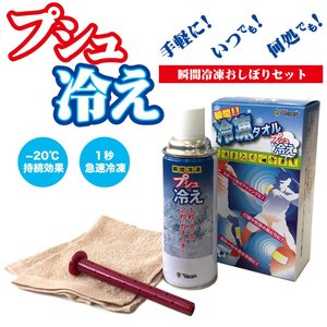 Vipros 瞬間冷凍タオルセット・プシュ冷え VS-507|partsonline