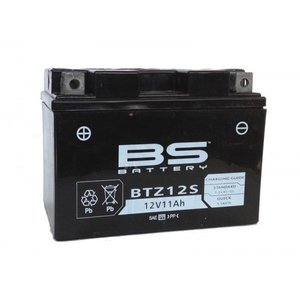 BS BATTERY BTZ12S VRLA(制御弁式密閉)バッテリー(あす楽対応) partsonline