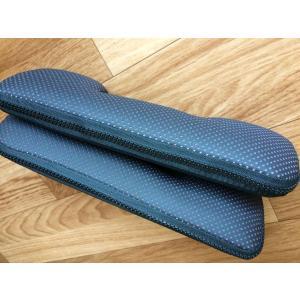 ハイエース 200系 アームレスト PVCレザー 黒赤 左右セット