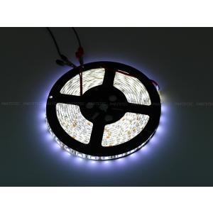 12V 300連 LED テープライト 防水 防塵 カバー付 対応 : 長さ 5m partstec