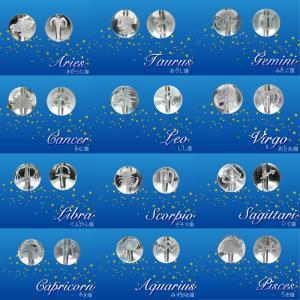 【卸価格】カービング 水晶【26.星座 水晶 ◆10mm】1粒売り 手研磨 ハンドメイド 手作り 天然石 カービング【メール便対象】|partsworldjp