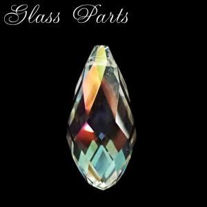 ガラスパーツ (No.38) 50mm クリスタル ドロップ型 |結晶 しずく 雫 涙 なみだ キラキラ ビジュー|partsworldjp