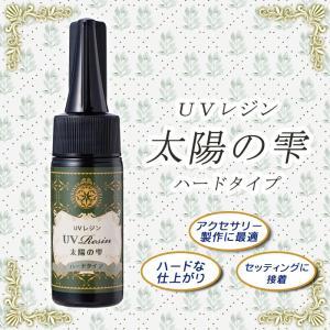 UVレジン液 (太陽の雫 ハードタイプ) /25g  1個 (ゆうパケット対象/メール便) PADICO パジコ 日本製 JAPAN|partsworldjp