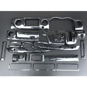 日産 E26 キャラバン NV350 3Dウッドパネル インテリアパネル 19Pブラックウッド