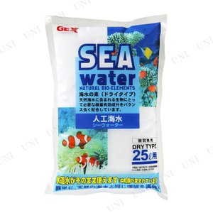 人工海水。天然の海水に含まれる多種多様な微量有効成分がバランスよく配合されています    【関連キー...