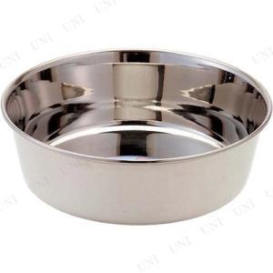 サビに強い良質ステンレスを使用した犬用食器です。衛生的で丈夫なステンレス製。適度な重さで食事中もズレ...