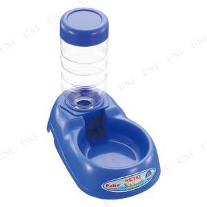 ペティオ (Petio) ディッシュ 給水器付 青