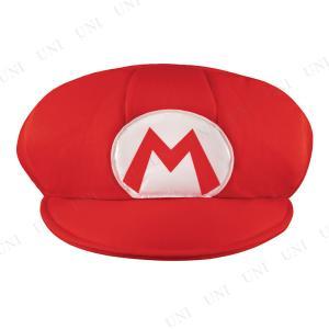 コスプレ 仮装 衣装 ハロウィン パーティーグッズ かぶりもの マリオの帽子 大人用|party-honpo