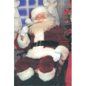 サンタ コスプレ 仮装 衣装 メンズ クリスマス コスチューム 大人用 DXサンタスーツ L party-honpo