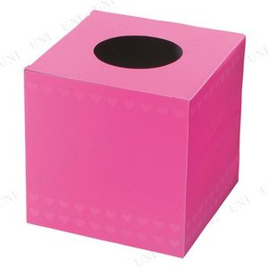 愛を呼ぶ?ピンクの抽選BOXです。ピンク色のハート柄がとってもラブリー。イベントやパーティでお使いい...