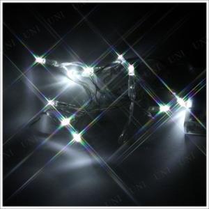 イルミネーションライト 室内 雑貨 装飾 屋内 電池式LEDプチ電飾(ホワイト色10球100cm) party-honpo