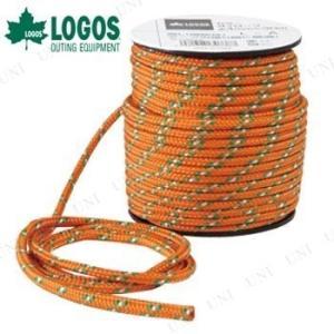 ドームテントやスクリーンタープの設営に便利な約30mの張り綱。視認性の高いオレンジ色です。レジャー、...