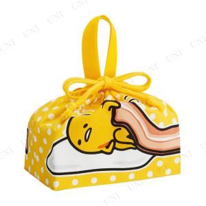ランチ巾着 ぐでたま ランチグッズ ランチアイテム キャラクター お弁当袋 巾着袋 お弁当入れ ランチバッグ サンリオ