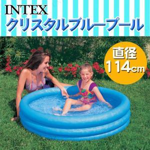 INTEX(インテックス) クリスタルブループール 114c...