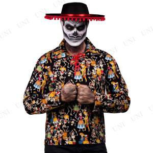 死者の日パーティシャツ M 仮装 衣装 コスプレ...の商品画像