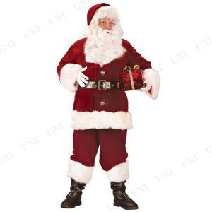 サンタ コスプレ スーパーDXサンタスーツ XL 仮装 衣装 メンズ クリスマス サンタコス|party-honpo