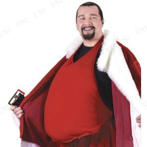 サンタ コスプレ サンタクロースのお腹 仮装 衣装 メンズ クリスマス 大きいサイズ|party-honpo