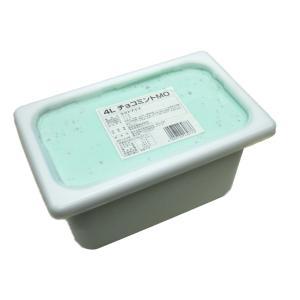 業務用アイスクリーム チョコミントアイスクリーム 4リットル...