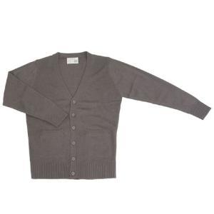 制服 スクール 「カーディガン チャコールグレー LL」 レディース 大きいサイズ なんちゃって制服|partyparadise