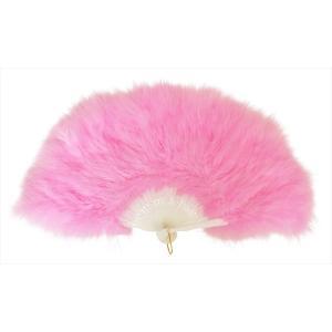 羽扇子 扇子 「ふわふわ羽扇子 ピンク」 せんす センス ハロウィン 仮装 衣装 コスプレ コスチューム バブリー ボディコン partyparadise