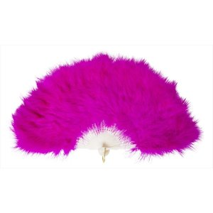 羽扇子 扇子 「ふわふわ羽扇子 ショッキングピンク」 せんす センス ハロウィン 仮装 衣装 コスプレ コスチューム バブリー ボディコン partyparadise