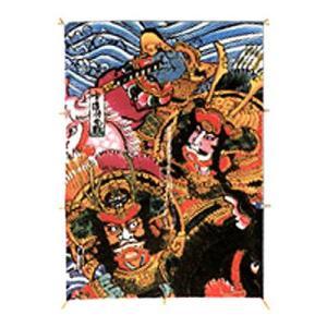 お正月 凧 たこ 凧揚げ 飾り 和凧 正月飾り凧 「大凧 No.401 宇治川合戦和柄」 カイト おもちゃ|partyparadise