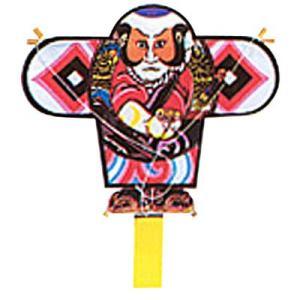 お正月 凧 たこ 凧揚げ 飾り 和凧 正月飾り凧 「ミニ凧 No.809 奴和柄」 カイト おもちゃ|partyparadise