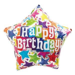 誕生日 飾り付け バルーン 風船 / デザイナーバースデー ホログラフィック|partyparadise