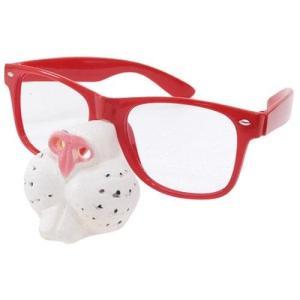 おもしろメガネ 面白 鼻付きめがね「Nose Glass R...