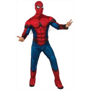 スパイダーマン コスプレ 衣装 仮装 コスチューム 「大人用スパイダーマン ホームカミング」 マーベル アベンジャーズ アダルト partyparadise