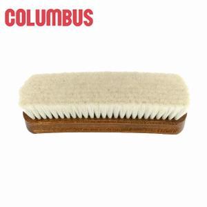 コロンブス ジャーマンブラシ9 山羊毛 (ホコリ落とし)靴 ヤギ レザー 割引不可|parusu