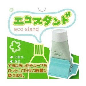 『エコスタンド A302 3個セット』(割引サービス対象外)化粧品 歯磨き粉 少なくなったチューブを最後まで使用 便利 エコスタン parusu
