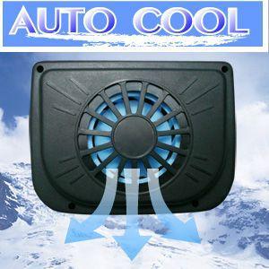 AUTO COOL  車用 ソーラーファン 1台は(割引サービス不可品)(お取り寄せ品につきキャンセル返品不可)ポイント企|parusu