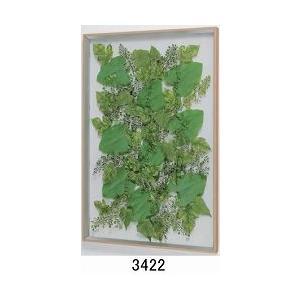 大感謝価格薄型インテリアグリーン 3422or3423メーカー直送品。代引不可・同梱不可・返品キャンセル・割引不可観葉植物 壁掛け ディスプレイ 額装|parusu