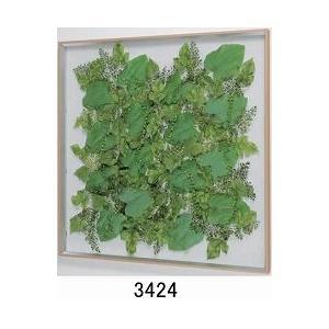 大感謝価格薄型インテリアグリーン 3424メーカー直送品。代引不可・同梱不可・返品キャンセル・割引不可観葉植物 壁掛け ディスプレイ 額装 飾る 雑|parusu