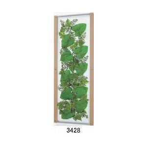 大感謝価格薄型インテリアグリーン 3428or3429メーカー直送品。代引不可・同梱不可・返品キャンセル・割引不可観葉植物 壁掛け ディスプレイ 額装|parusu