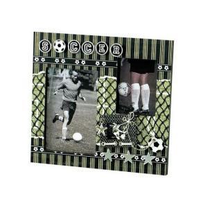 【大感謝価格】フォトフレーム サッカー 35064×2個セット|parusu